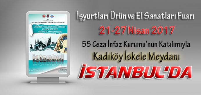 Ceza İnfaz Kurumları, Tutukevleri İşyurtları Fuarı ile İstanbul'da !