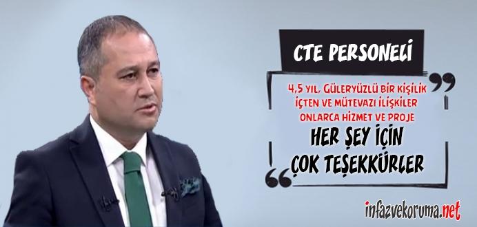 CTE Genel Müdürü Enis Yavuz YILDIRIM'ın Görevi Değişti !