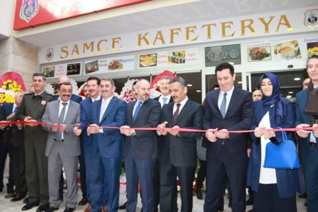 İşyurtları Kurumu Samsun Adalet Sarayı Halka Açık Satış Mağazası ve Kafeteryanın Açılışı Yapıldı