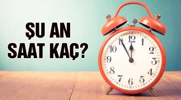 Şuan saat kaç? Saatler geri alındı mı? Türkiye'de gerçek saat kaç?